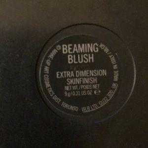 Mac Beaming Blush never used